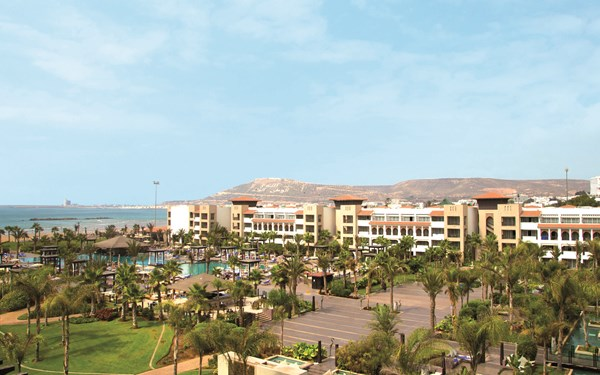Viersterren adults only Riu hotel in Agadir